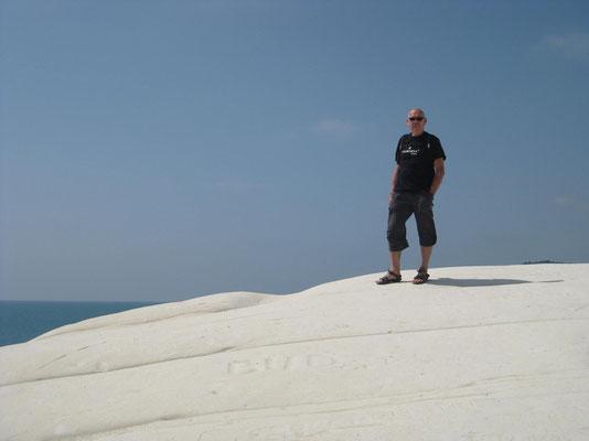 Barni auf dem Gipfel