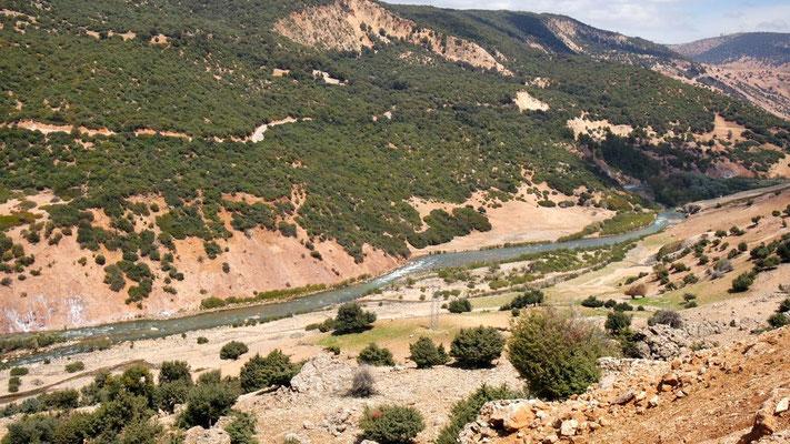 Quellgebiet des Oum er-Rbia, Marokkos längster Fluss