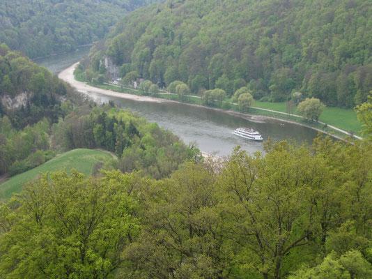 Die Donauenge aus der Befreiungshalle-Perspektive