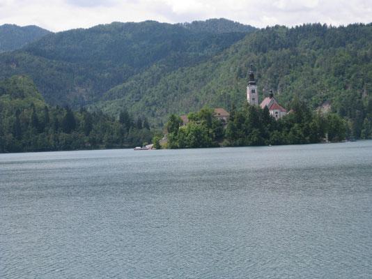 Das Inseli im See von Bled