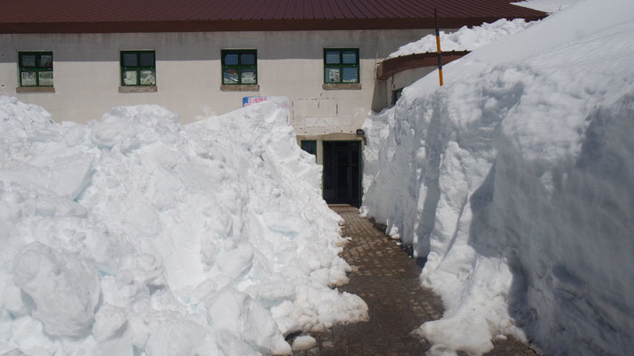 Schneemassen ohne Ende