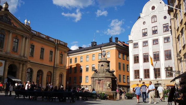 Im Herzen von Stockholms Gamla Stan