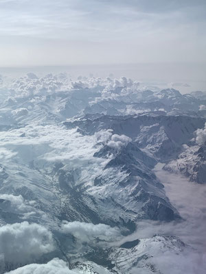 Heile Bergwelt von oben