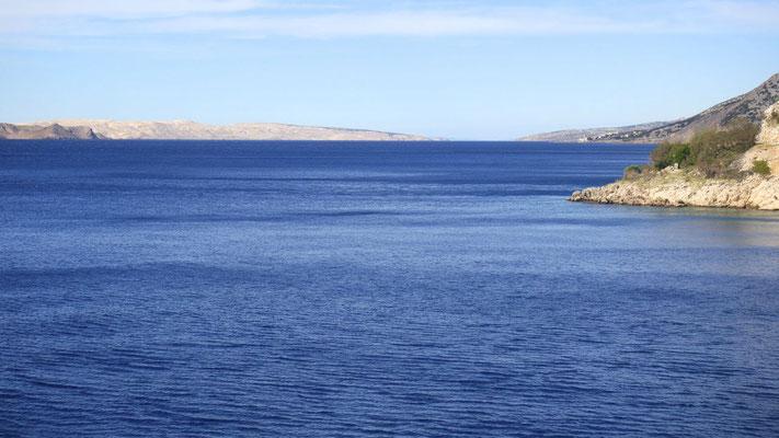 Der kroatischen Küste entlang