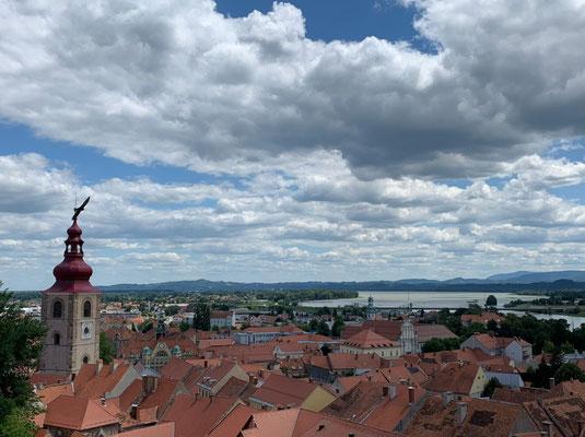 Blick vom Schlosshügel
