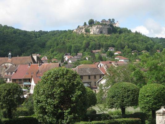 Das Chateau von Ornans - ein lohnenswerter Spazier
