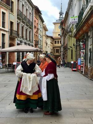 In der Altstadt von Oviedo, die Hauptstadt Asturiens
