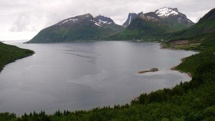 Auch typisch Norwegen - es kann nicht nur die Sonne scheinen!