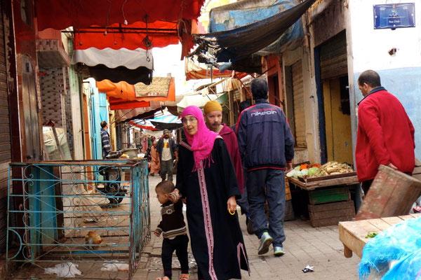 Im Souk von Salé, der Nachbarstadt am anderen Ufer des Bou Regreg