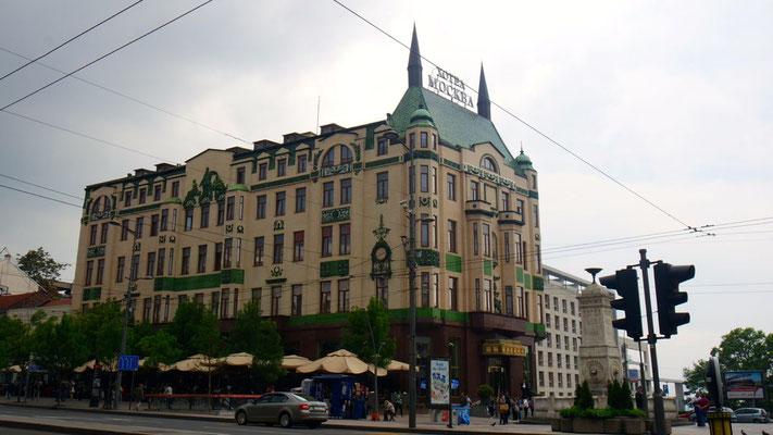 Prunkvolles Hotel Moskau