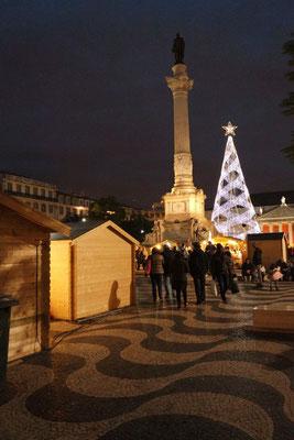 Weihnachtsstimmung am Praça Figueira