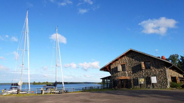 Schwedenidylle in Axmarbrygga am Gästehafen