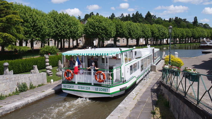 Schleusenfreuden in Briare le Canal