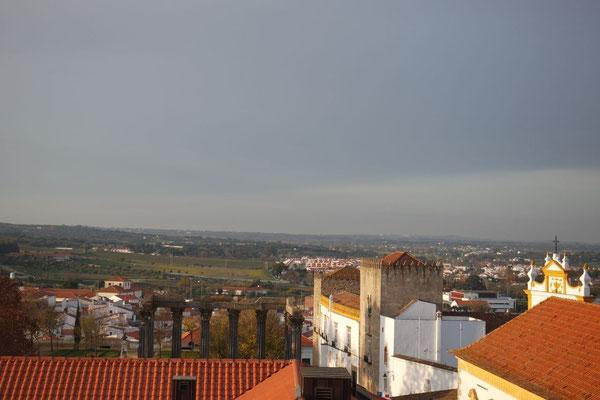 Lohnenswerter Ausblick auf die Alentejo-Landschaft