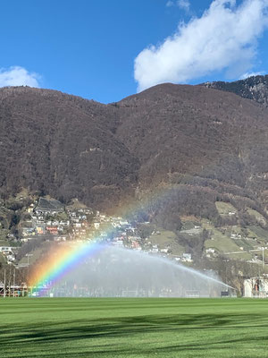 Regenbogen auch ohne Regen möglich!!