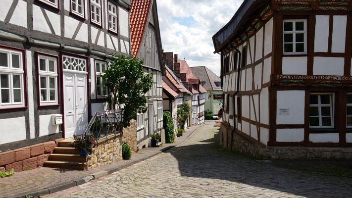 In der historischen Altstadt und Hansestadt Warburg ...