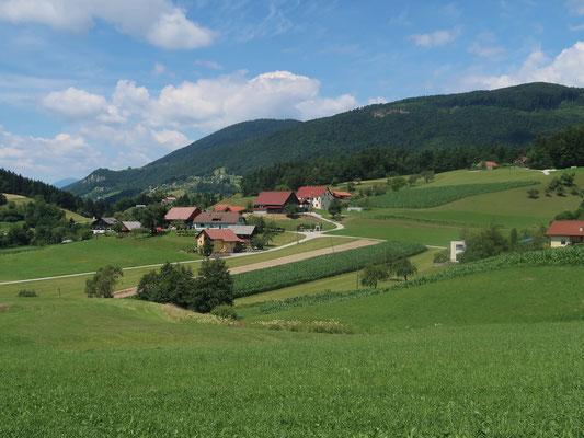 Slowenisch-liebliche Landschaft à la Helvetien