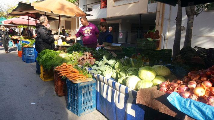 Markt in Volos
