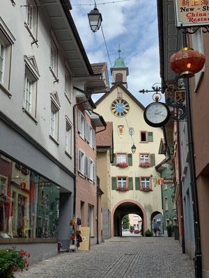 Hübsche Altstadt auch auf der Nachbarseite