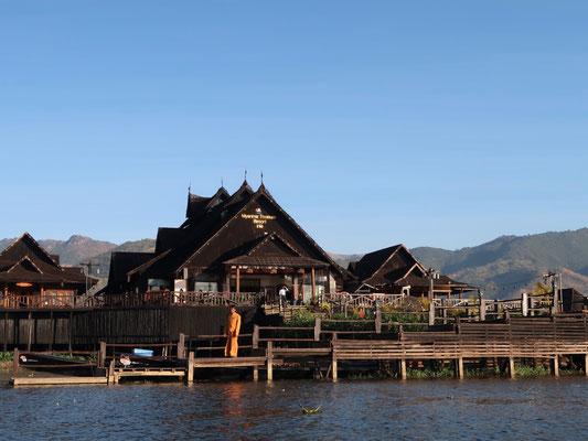 Willkommen im Tresure Resort am Inle-See