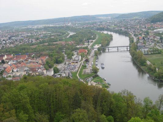 Kelheim an der Donau mit seiner Anlegestelle
