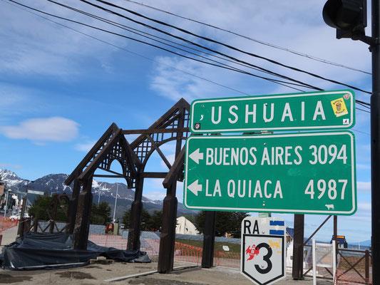 Ushuaia, an der Südspitze Argentiniens