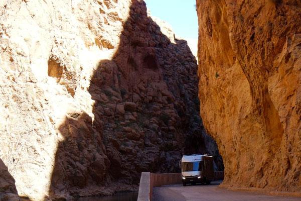 Um Ecken und Felsen durch die Gorges du Dadès