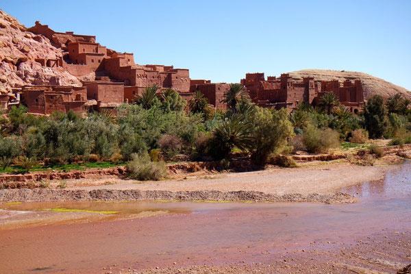 Ait Ben Haddou das UNESCO Weltkulturerbe am Fusse des Hohen Atlas
