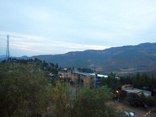 la ville de Lalibela en Ethiopie. Lalibela en trek une ville sereine.  Voyage Séjour Trekking et randonnée, Road Trip en Ethiopie.  Région Amhara