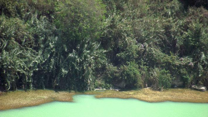 Le Lac Ara Shetan, Pays d'Oromia, Ethiopie
