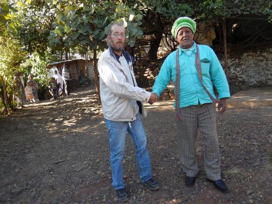 En compagnie du Chef des Awra Amba. Voyage Séjour Trekking et randonnée, Road trip en Ethiopie. Visite de la Région Amhara en Ethiopie.