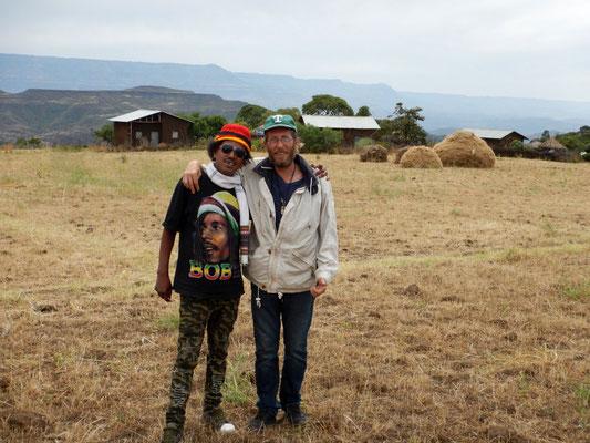 Mon associé Sileshi.  Trek à  Lalibela en Ethiopie. Voyage Séjour Trekking et randonnée, Road Trip en Ethiopie.  Région Amhara