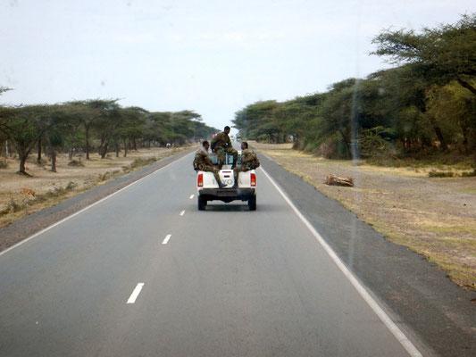 Voyage Séjour Trek Trekking Randonnée Road Trip Visite de la Région Oromia en Ethiopie. Trip Road Sahashamane to Addis Ababa