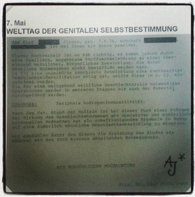 """#128 """"welttag der genitalen selbstbestimmung"""""""