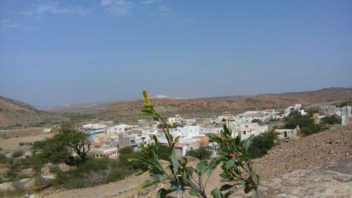 Blick auf Povoçao Velha