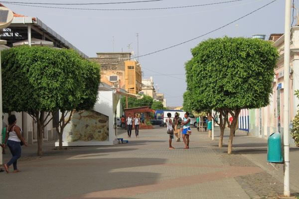 Fußgängerzone, dieeinzige