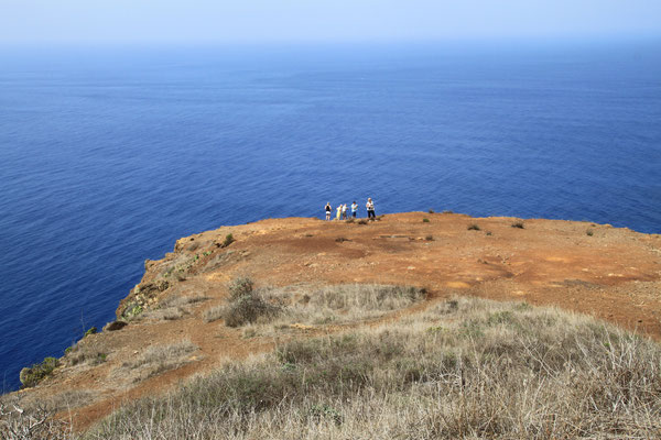Vor der Steilküste