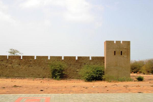 Mauer des ehemaligen Konzentrationslager