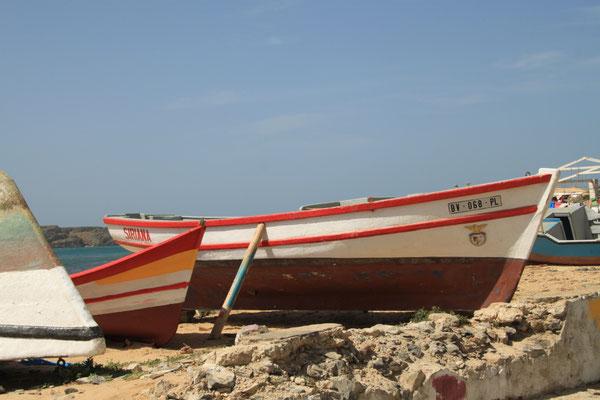 Boote am Hafen