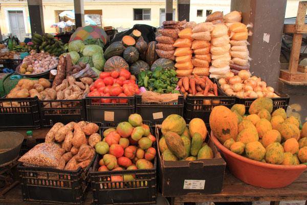 Auf dem Markt in Assomada
