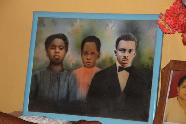 Familienbild kurz nach der Abschaffung der Sklaverei