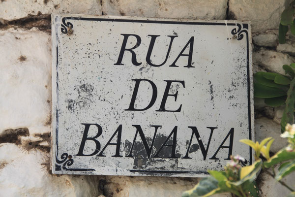 Durch diese Straße wurdendie Sklaven auf den Markt getrieben