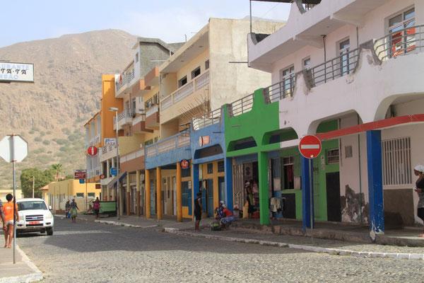 Straßenszene in Tarrafal