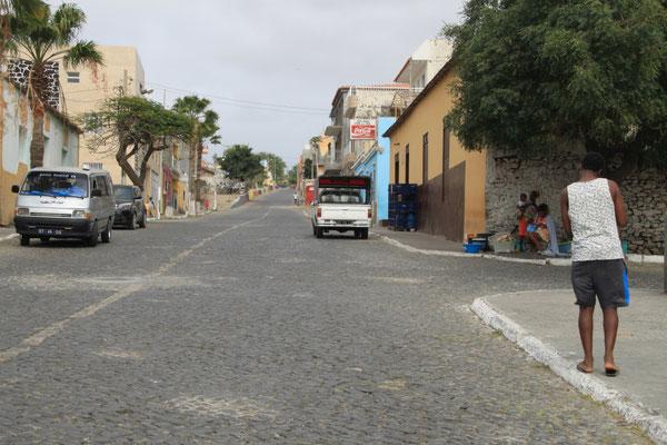 Hauptstraße in Tarrafal