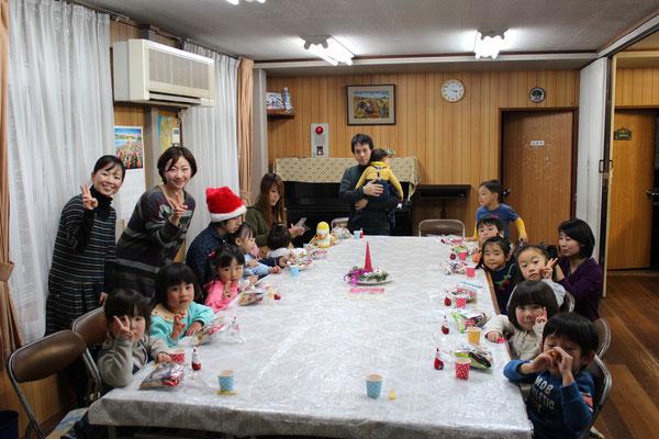 能勢川キリスト教会 キッズクリスマス