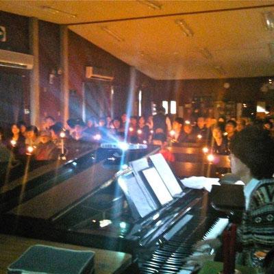 能勢川キリスト教会 クリスマス礼拝
