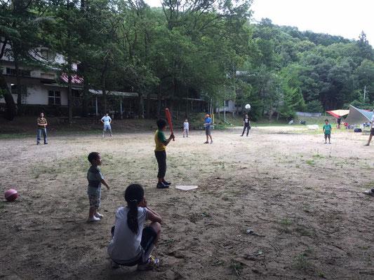 能勢川キリスト教会 キャンプ場