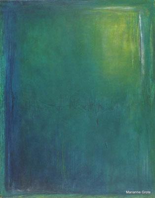 Meditation I, Mischtechnik auf Leinwand, 100 x 70 cm, 2010