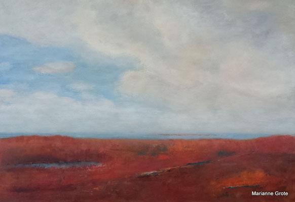 Sommer, 70 x 100 cm, Acryl auf Leinwand, 2016