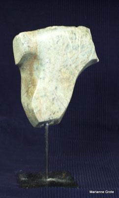 Torso II, Speckstein 21cm